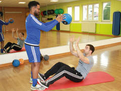 Medizinball-Workout-Teil 2